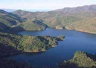 Carters Lake Fishing Spot Ga Fish Finder